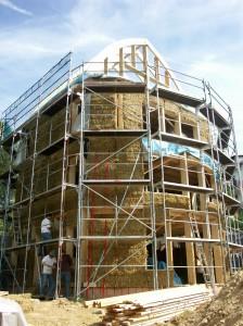 Das erste Strohballen-Wohnhaus in Hessen