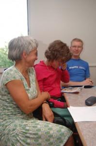 Conny mit ihrer Tochter Anne auf einem Alpinis-Treffen im Juli