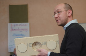 Jens Lüder Herms mit dem pro clima CLOX