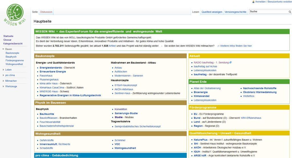 Startseite WISSEN Wiki