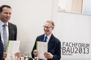 Zertifikatsübergabe auf der BAU 2013 in München