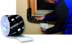 EXTOSEAL ENCORS -Neu für Unterfensterbänke und Anschlüsse: Dehnbare und stark haftende Anschluss- und Absperrbänder aus Butyl