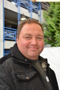Peter Gräßlin, Zimmeremeister der Zimmerei Wolf aus Bad Krotzingen.