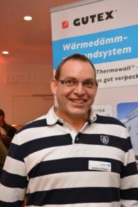 Schreinermeister Hartmut Pfleger.