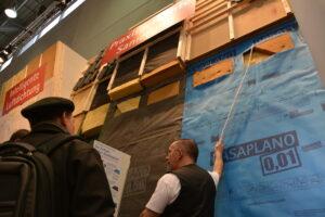 Viele Besucher interessierten sich für die Sanierungslösungen.