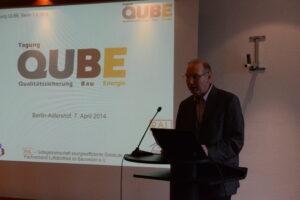 Wilfried Walther, erster Vorsitzender des Fachverbands Luftdichtheit im Bauwesen e. V. (FLiB)