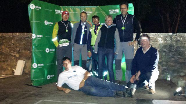 100 Kilometer in 21 Stunden - das pro clima Firmenteam Lopurtus hat es komplett ins Ziel geschafft.