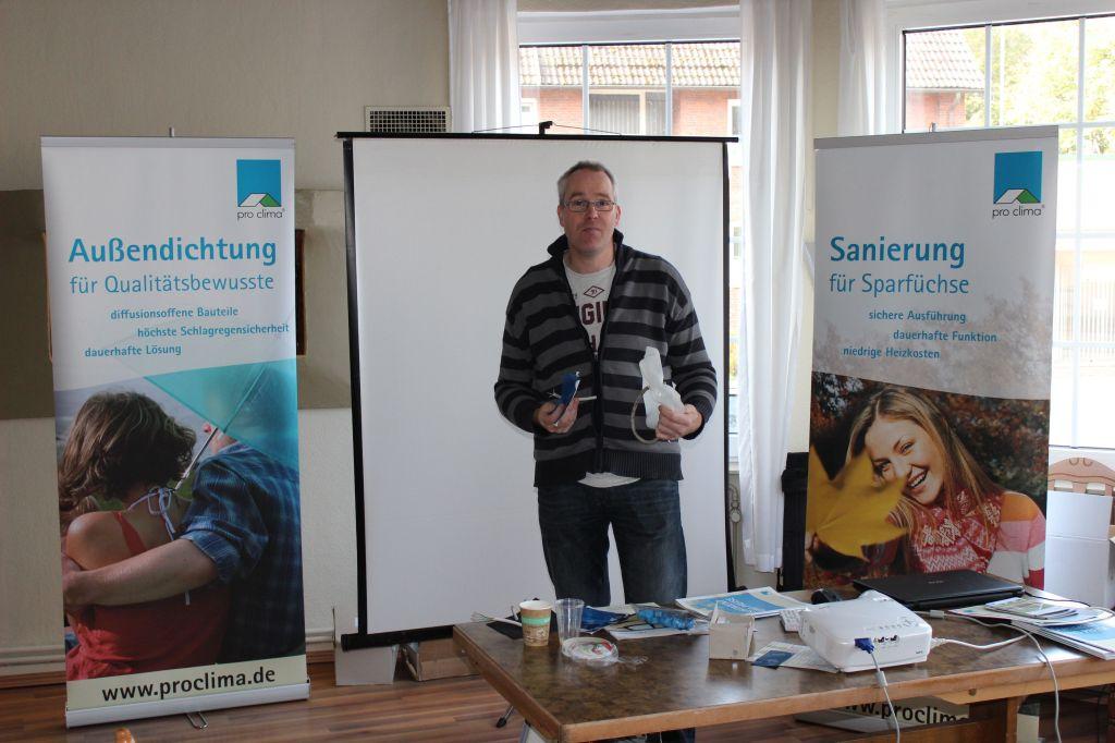 Jan Krebs, pro clima Außendienset Nord.