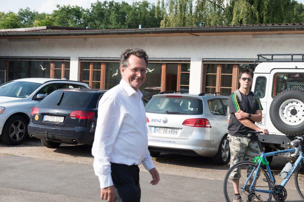pro clima Gründer und Geschäftsführer Lothar Moll von MOLL bauökologische Produkte GmbH.