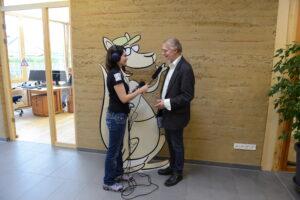 Interview zum Thema Wissensvermittlung mit Uwe Bartholomäi, Geschäftsführer MOLL pro clima.