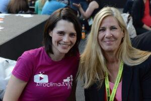 Monika John auf der re:publica und Media Convention im Mai 2015.