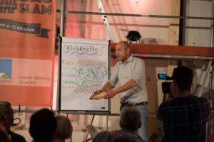 Was Spagetti mit Klebetechniken auf dem Bau zu tun haben, das demonstrierte Slammer Jens Lüder Herms vergangenes Jahr auf dem Bauslam. Auch dieses Jahr tritt er mit weiteren fünf Bauexperten am 2. Juni in Schwetzingen an.