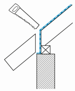 Bild - Entfernung Dachvorsprung