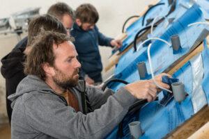 Pro Clima Dachsanierungsseminar mit Stefan Hückstädt und Thomas Gärtner. Schwetzingen am 28. April 2015.