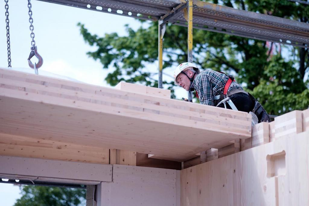 Witterungsschutz, Schlagregenschutz und Luftdichtung im Holzbau