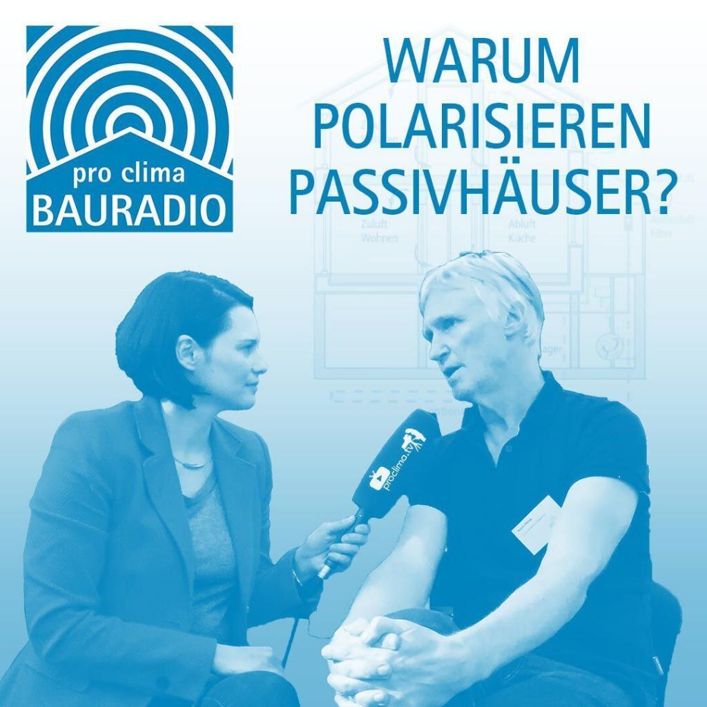 Interview Passivhaus Roland Matzig mit Heide Merkel